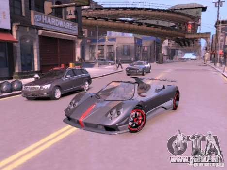 Pagani Zonda Cinque Roadster v 2.0 für GTA 4