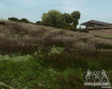 Grass form Sniper Ghost Warrior 2 pour GTA San Andreas troisième écran