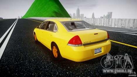 Chevrolet Impala 9C1 2012 für GTA 4 hinten links Ansicht
