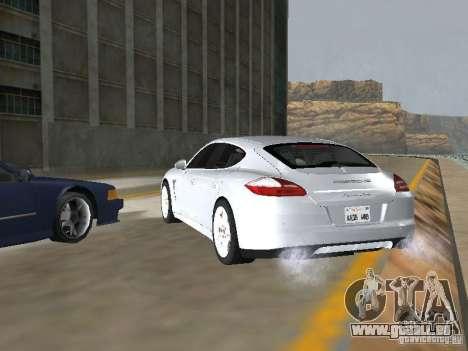 Porsche Panamera Turbo Tunable für GTA San Andreas linke Ansicht