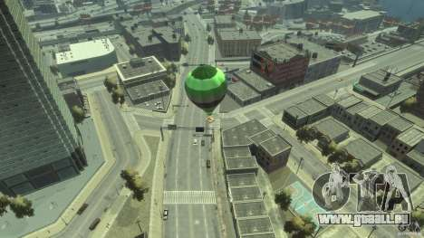 Balloon Tours option 3 für GTA 4 hinten links Ansicht