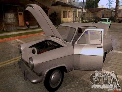 GAZ 21 Volga für GTA San Andreas Innenansicht