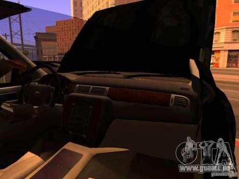 Chevrolet Silverado HD 3500 2012 pour GTA San Andreas vue de côté