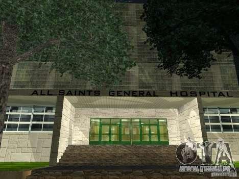 Neue Krankenhaus-Krankenhauses für GTA San Andreas dritten Screenshot