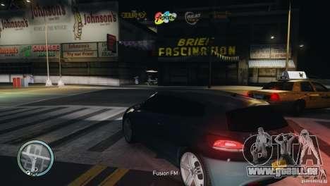 Coloured Radio HUD für GTA 4 fünften Screenshot
