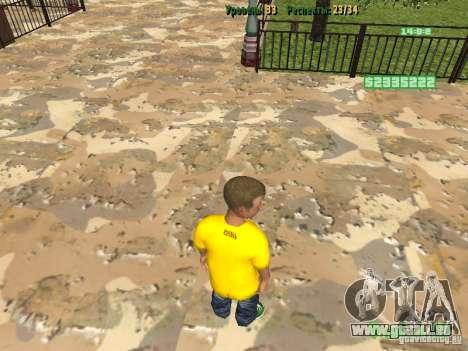 Petite élève pour GTA San Andreas deuxième écran