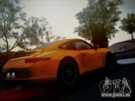 Porsche 911 (991) Carrera S pour GTA San Andreas vue de côté