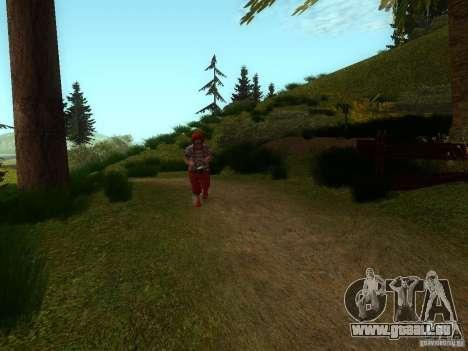 Crazy Clown für GTA San Andreas dritten Screenshot