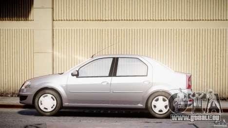 Dacia Logan v1.0 für GTA 4 linke Ansicht