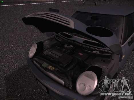 Mini Cooper S für GTA San Andreas obere Ansicht