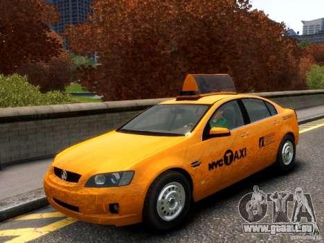 Holden NYC Taxi für GTA 4