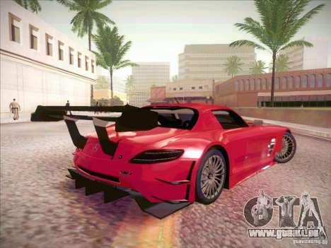 Mercedes-Benz SLS AMG GT-R pour GTA San Andreas vue de droite