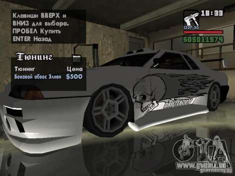 Ultra Elegy v1.0 für GTA San Andreas