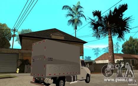 Mercedes-Benz Sprinter Truck pour GTA San Andreas vue de droite