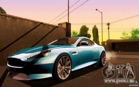Aston Martin Virage V1.0 für GTA San Andreas linke Ansicht
