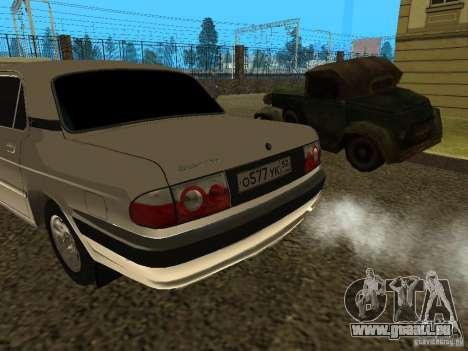 Volga GAZ 3110 für GTA San Andreas zurück linke Ansicht