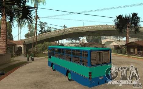 Thamco Aguia M.Benz OF1114 für GTA San Andreas zurück linke Ansicht