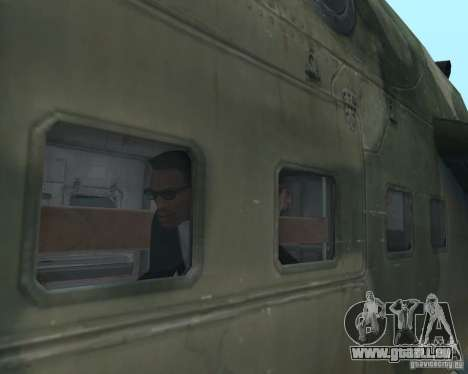 Mi-24p pour GTA San Andreas vue de côté