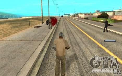 Protection pour Cj pour GTA San Andreas cinquième écran