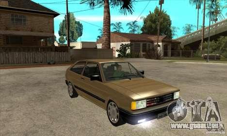 VW Gol GL 1.8 1989 pour GTA San Andreas vue arrière