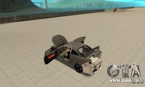 Chevrolet Cobalt SS NFS ProStreet pour GTA San Andreas vue de côté