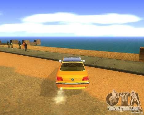 BMW 750iL e38 Drift Tune pour GTA San Andreas vue de droite