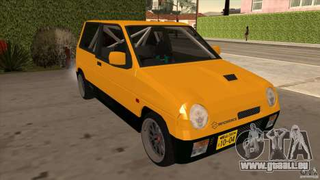 Suzuki Alto Euro für GTA San Andreas Rückansicht