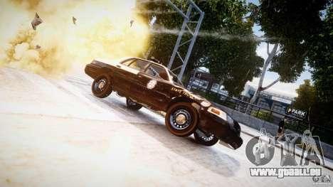 Ford Crown Victoria Fl Highway Patrol Units ELS für GTA 4 Seitenansicht