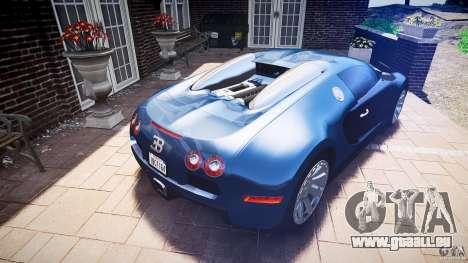 Bugatti Veyron 16.4 v3.0 2005 [EPM] Strasbourg für GTA 4 obere Ansicht