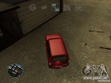 RADIO HUD IV 3.0 pour GTA San Andreas troisième écran