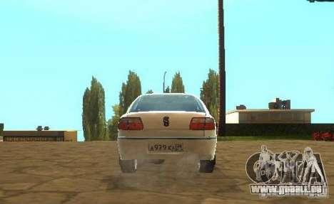 Opel Omega B 1997 für GTA San Andreas rechten Ansicht