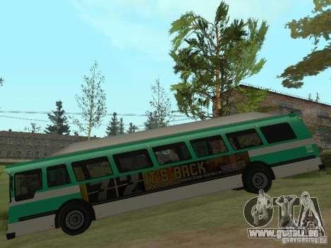Bus de GTA 4 pour GTA San Andreas sur la vue arrière gauche