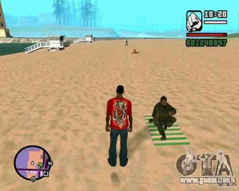 Action de COD Modern Warfare 2 pour GTA San Andreas
