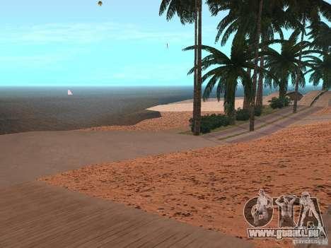 HQ Beach v1.0 pour GTA San Andreas deuxième écran