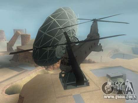 CH46 pour GTA San Andreas laissé vue