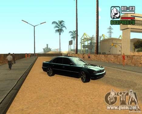 BMW 740i pour GTA San Andreas