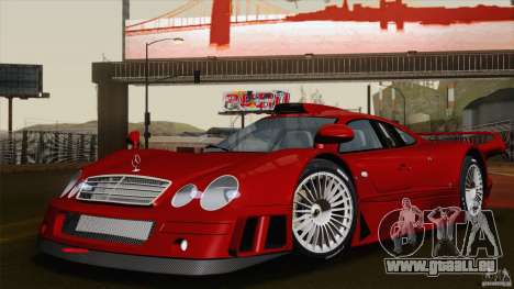 Mercedes-Benz CLK GTR Race Road Version Stock für GTA San Andreas Unteransicht