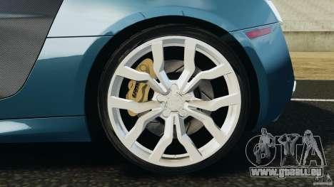 Audi R8 5.2 Stock Final für GTA 4 obere Ansicht