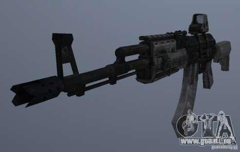AK47+Holographic sight für GTA San Andreas dritten Screenshot