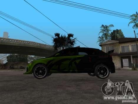 Chevrolet Lacetti Tuning für GTA San Andreas linke Ansicht