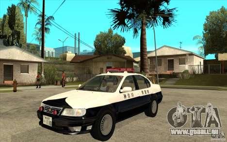 Nissan Cefiro A32 Kouki Japanese PoliceCar für GTA San Andreas rechten Ansicht