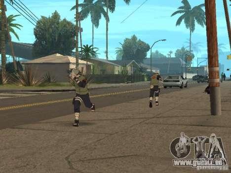 Hatake Kakashi From Naruto für GTA San Andreas sechsten Screenshot