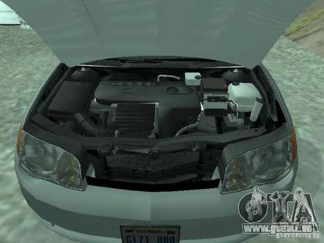 Saturn Ion Quad Coupe 2004 pour GTA San Andreas vue de droite