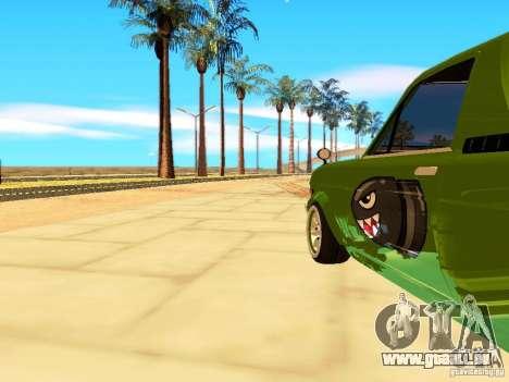Nissan Sunny K Truck FISH ART pour GTA San Andreas vue arrière
