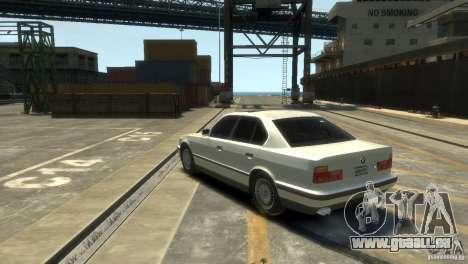 BMW 525i für GTA 4 linke Ansicht
