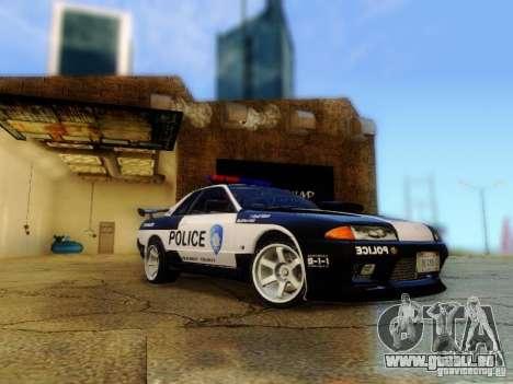 Nissan Skyline R32 Police pour GTA San Andreas
