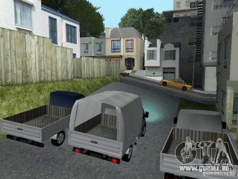 Ford Transit 2005 für GTA San Andreas linke Ansicht