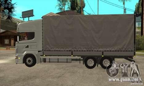 Scania R620 V8 pour GTA San Andreas laissé vue