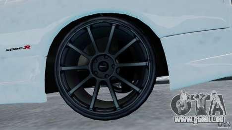 Nissan Silvia S15 für GTA 4 Rückansicht