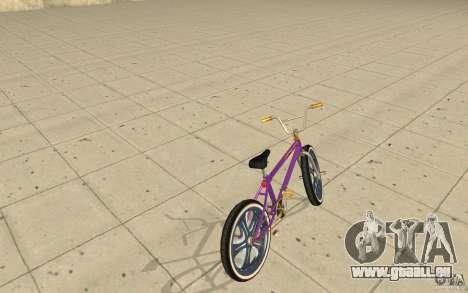 Spin Wheel BMX v1 für GTA San Andreas zurück linke Ansicht